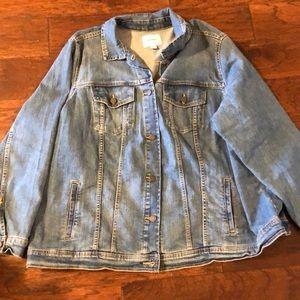 Old Navy Women's Plus Denim Jean Jacket 3X
